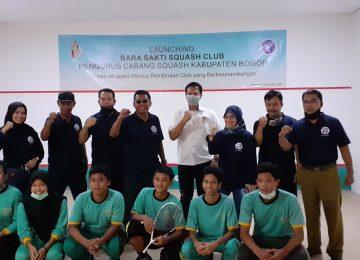 Launching Bara Sakti Squash Club